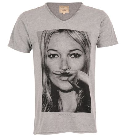 t-shirt eleven paris kate moss