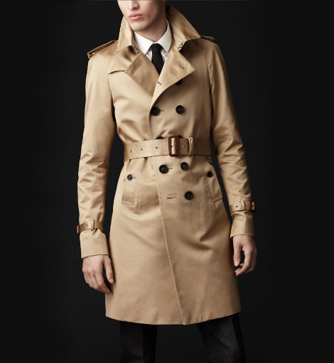 trench coat burberry homme