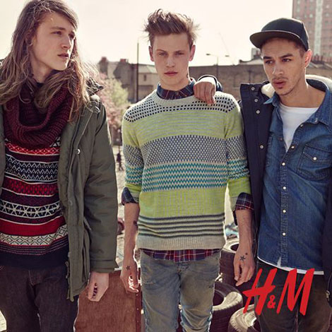 h&m mode homme