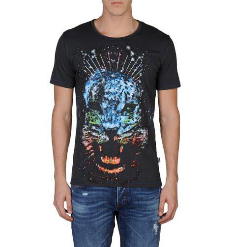 t-shirt tigre cavalli