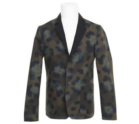 blazer léopard kenzo