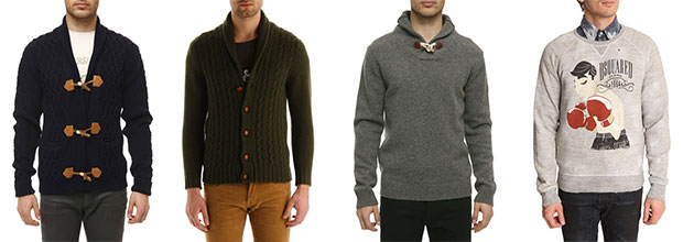 cardigan pull homme