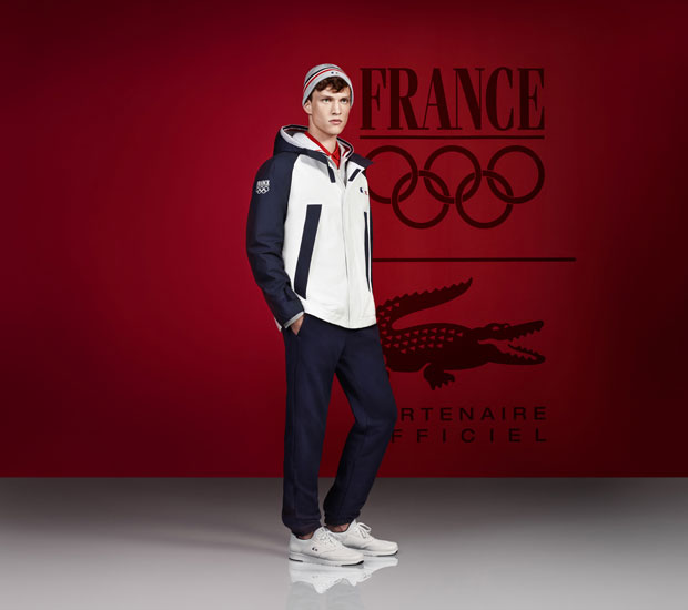 Lacoste Equipe de France tenue sport