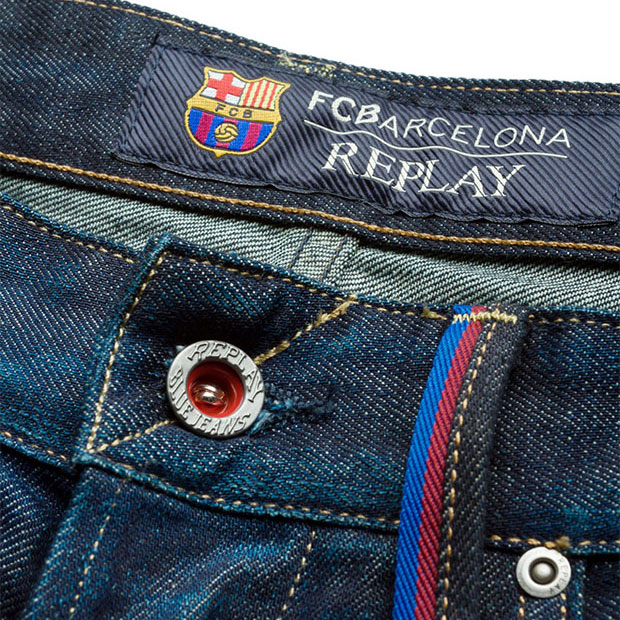 Replay denim zero Barcelone
