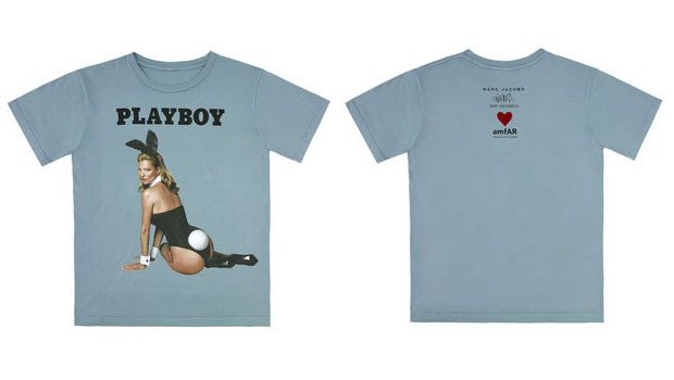 t-shirt marc jacobs playboy