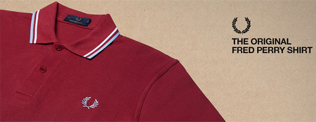 polo fines rayures fred perry