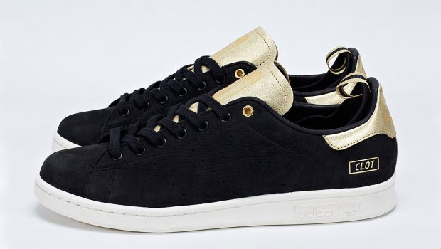 adidas noire doree stan smith clot