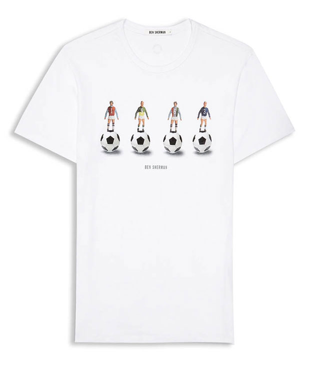 T-shirt Ben Sherman ballon footballeur