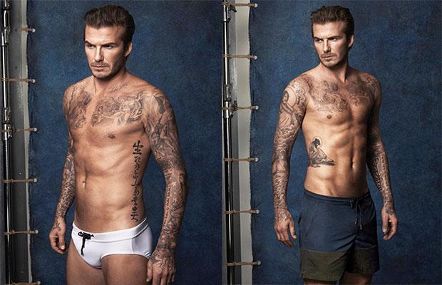 David Beckham maillot de bain