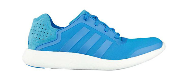 basket adidas pure boost bleue