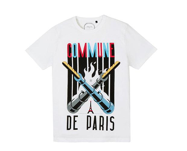 t-shirt commune de paris canon