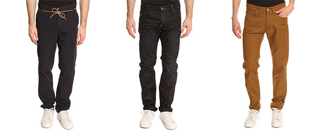 chino jean homme