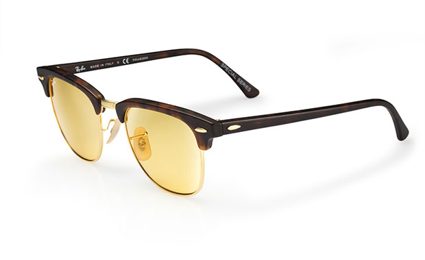 Ray-Ban Clubmaster ambermatic