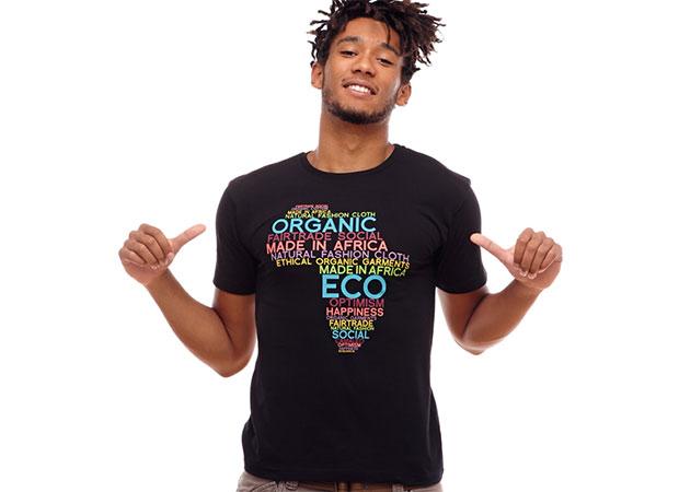 t-shirt coton bio Camaleo