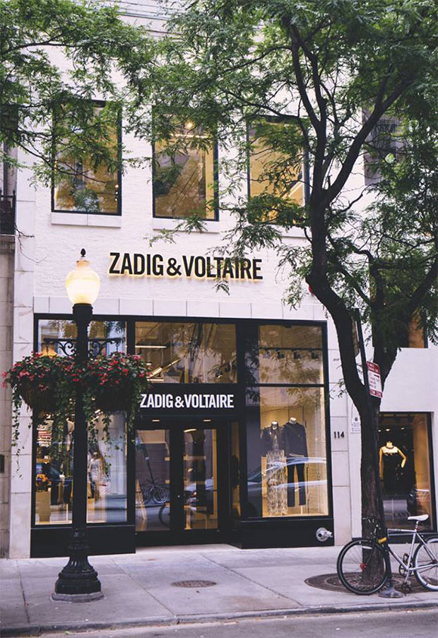 boutique Zadig & Voltaire Chicago