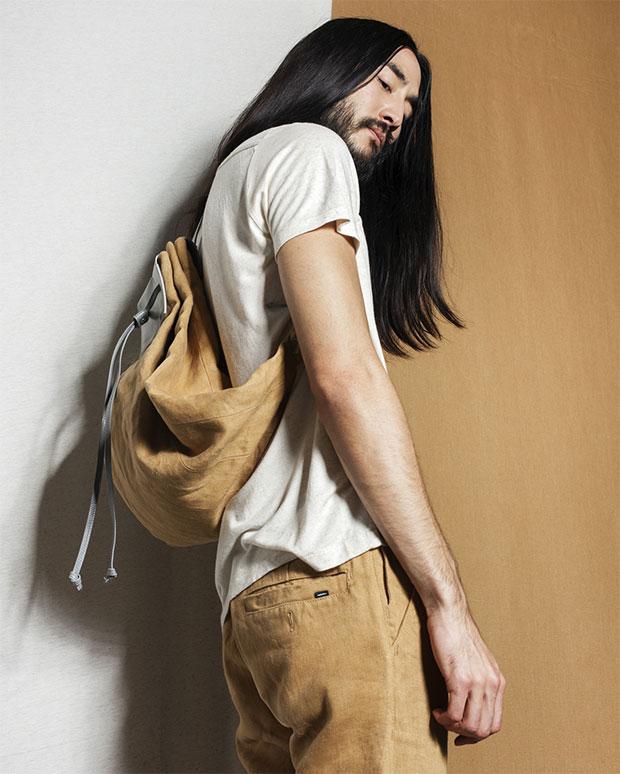 t-shirt et pantalon homme Freitag bio