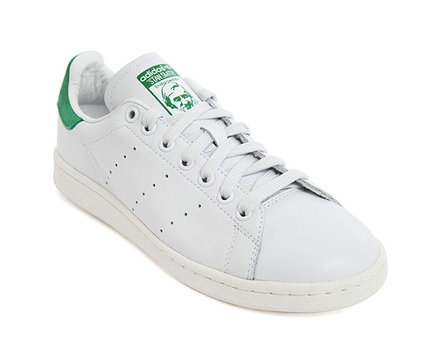 baskets en cuir Adidas Stan Smith