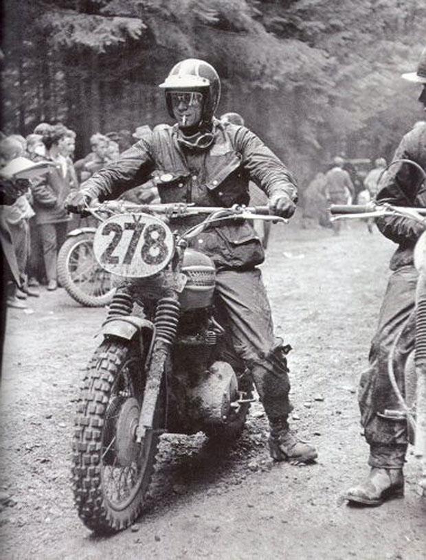 Steve McQueen en Barbour