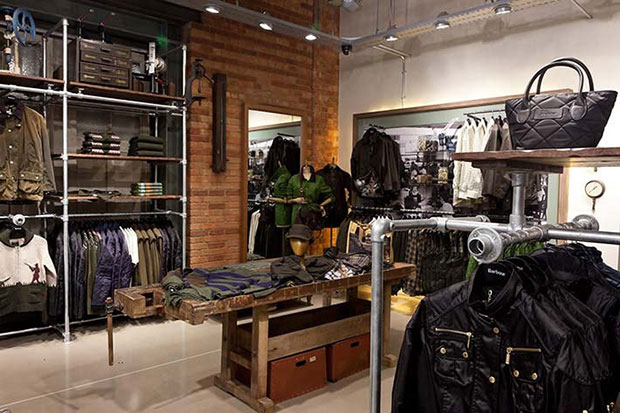 boutique Barbour de Londres Covent Garden
