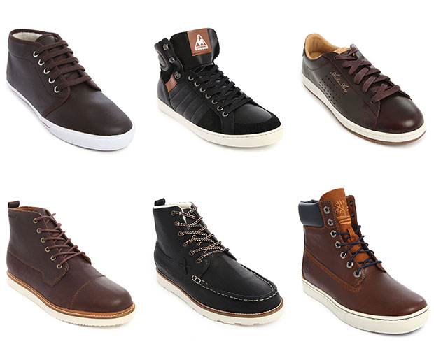 Boots et Sneakers en cuir pour homme