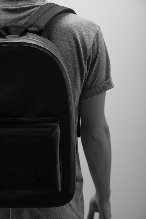 sac noir Herschel collection studio