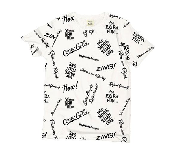 T-shirt blanc Kulte Coca-Cola