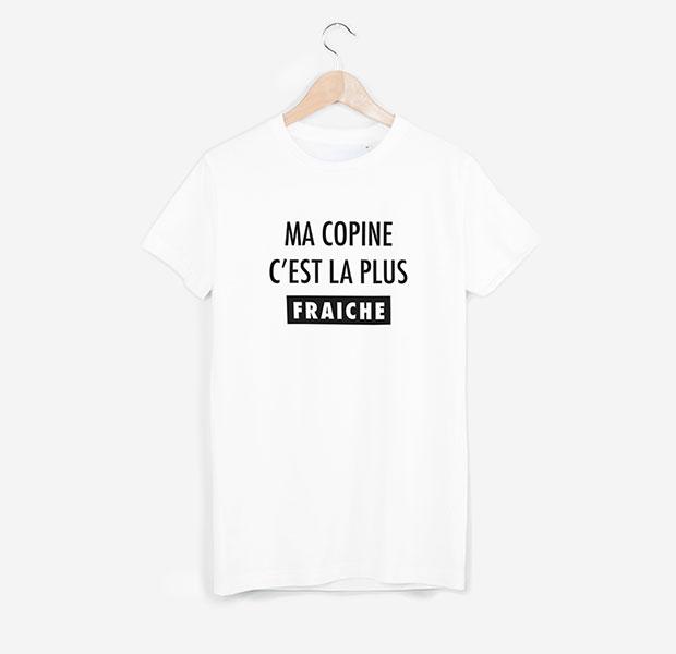 T-shirt Fraiche blanc