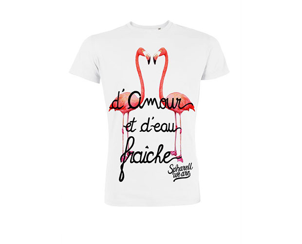 T-shirt Spharell We Are blanc