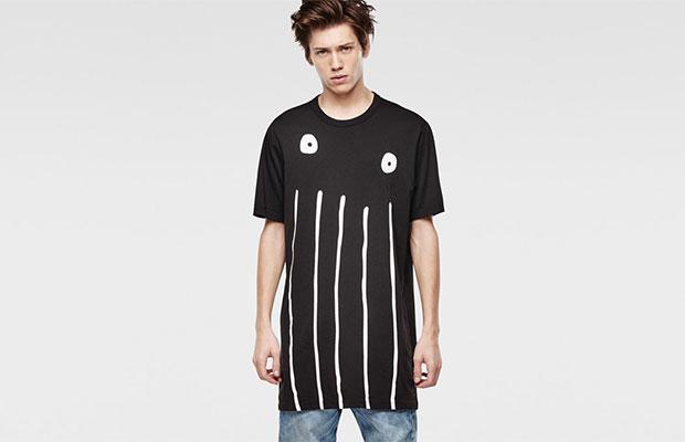 T-shirt oversize G-star