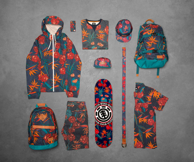 Collection homme Element Sketch Floral