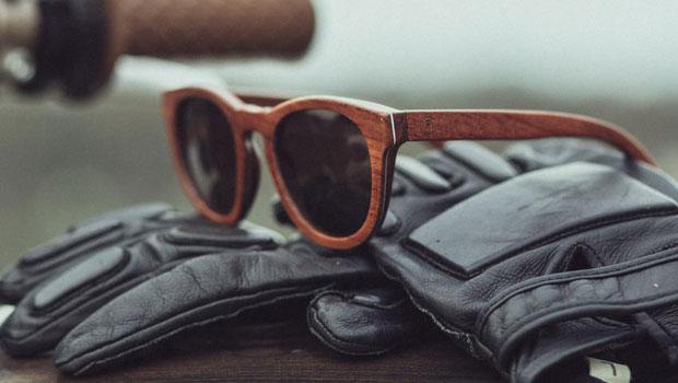 lunettes de Soleil en bois Rezin