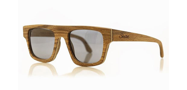 lunettes de Soleil en bois Shelter