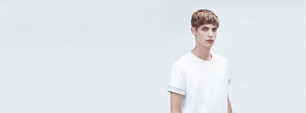 t-shirt blanc COS