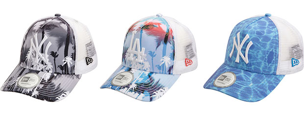 casquette trucker New Era Miami Vibe