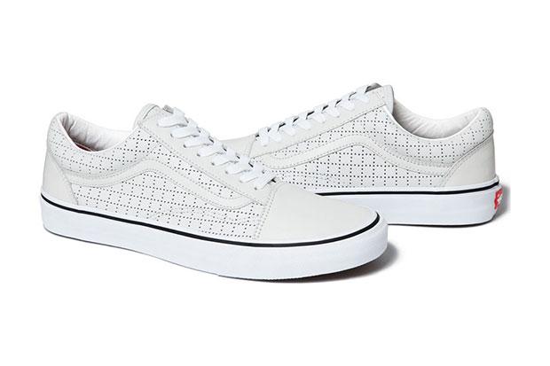 Supreme Vans sneakers blanc