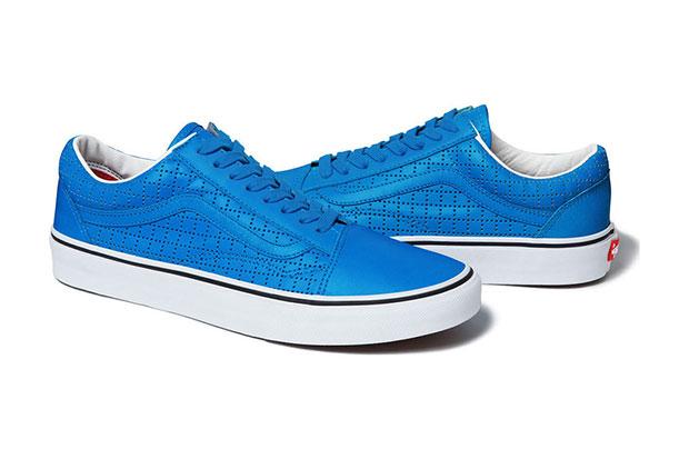 Supreme Vans sneakers bleu