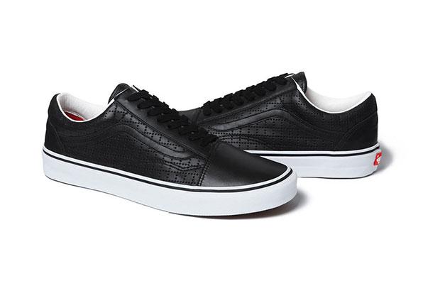 Supreme Vans sneakers noir