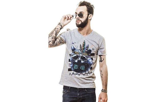 t-shirt Spharellweare raton laveur