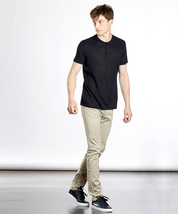 t-shirt en lin homme Zapa