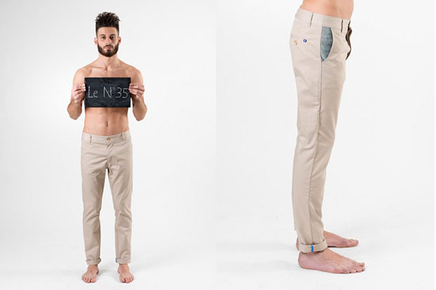 chino 35 beige DNM pièces