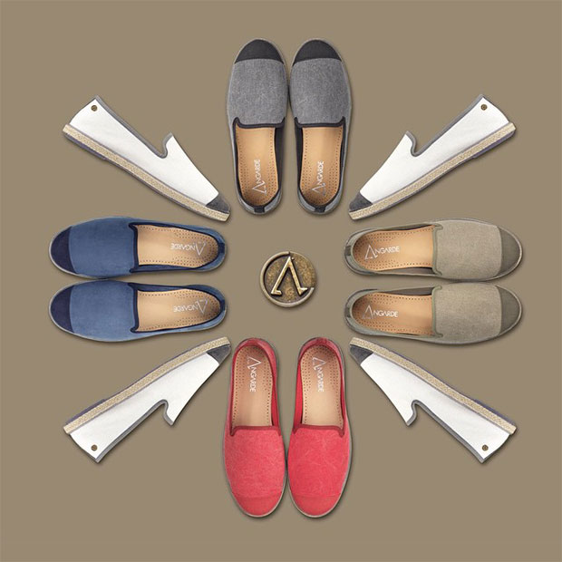 Collection chaussures Angarde