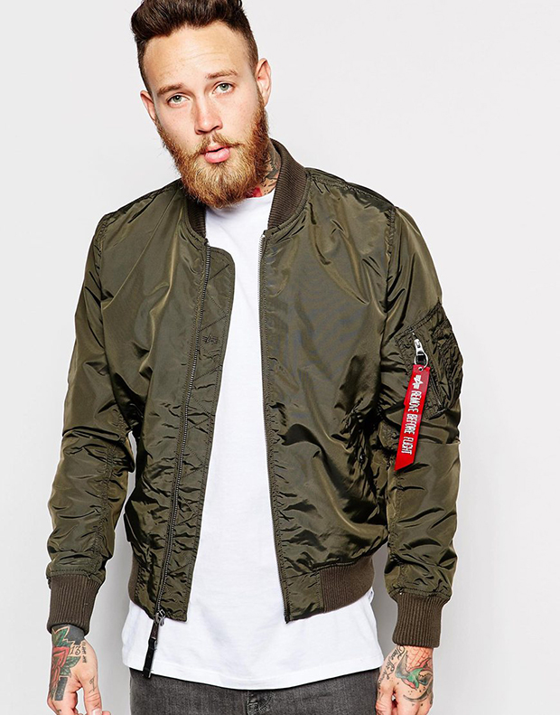 Bomber kaki Alpha Industries