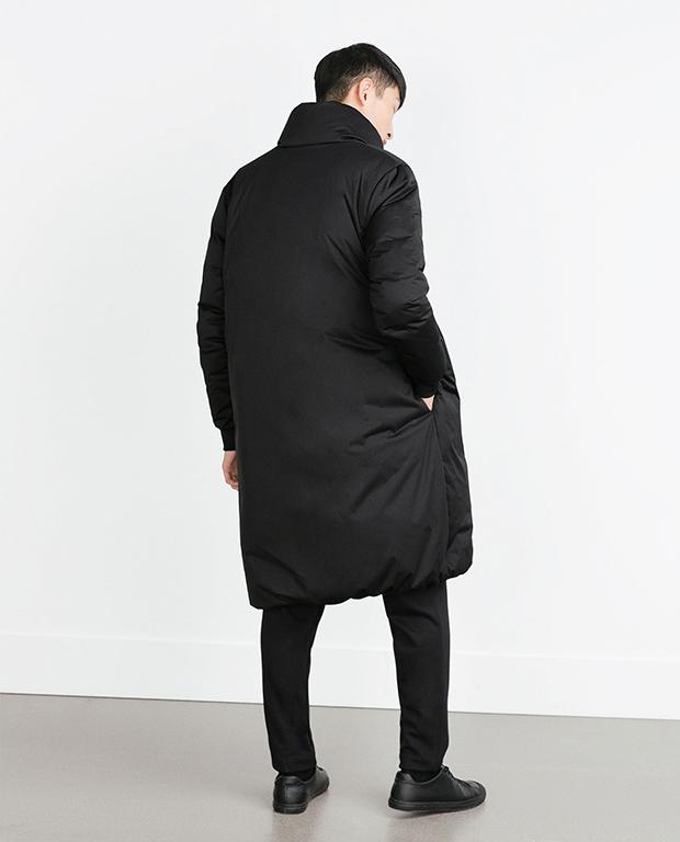 manteau long homme Zara