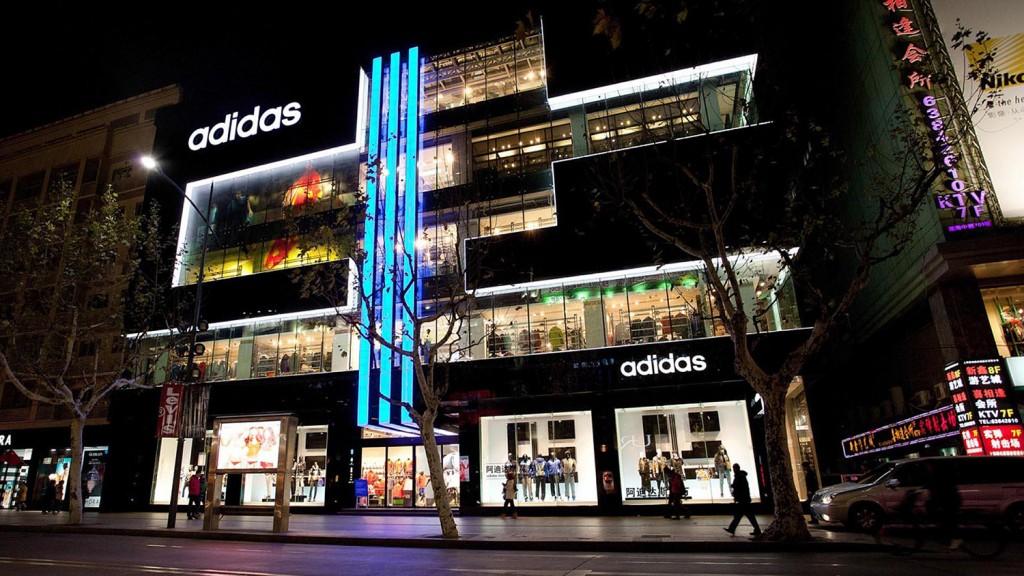 Adidas store Shanghai