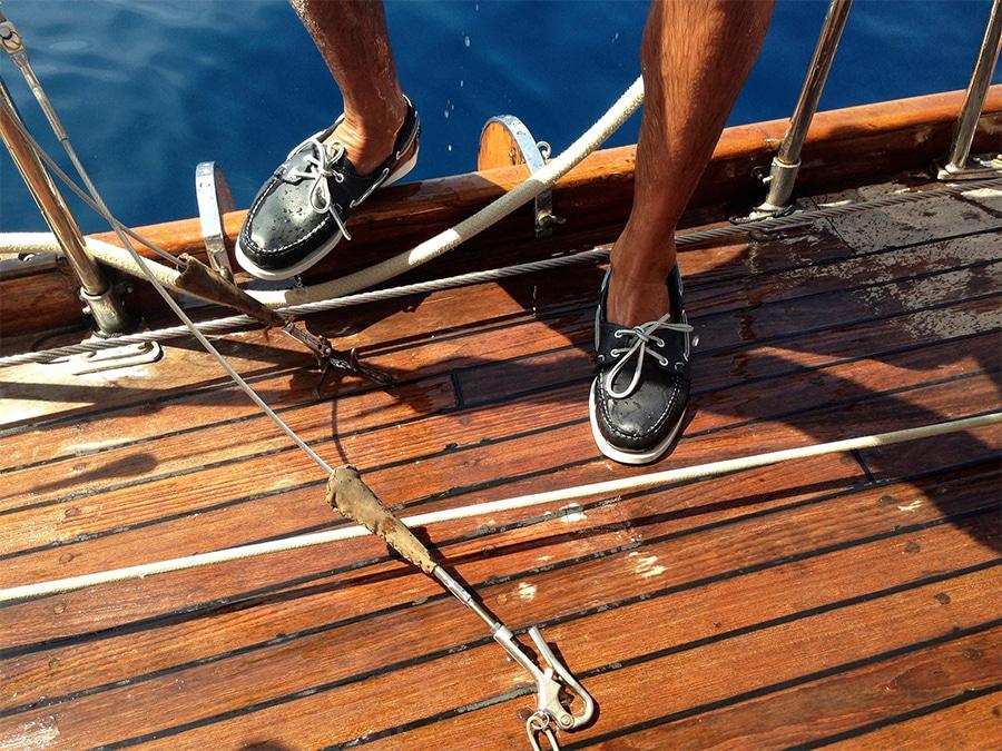 chaussures bateau Docksides Sebago