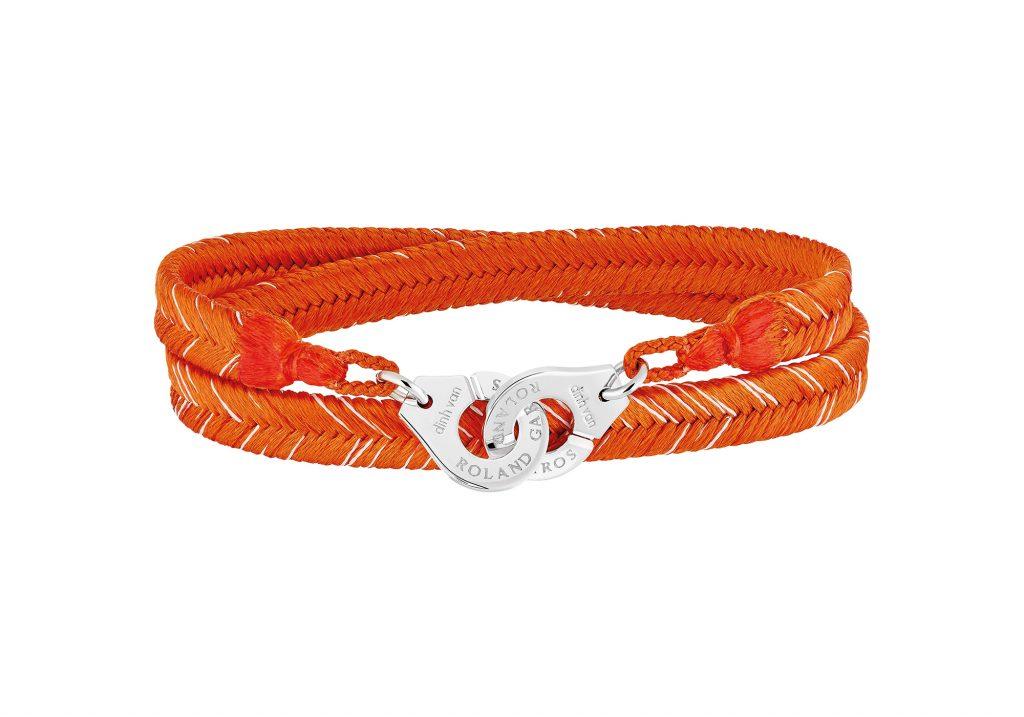 bracelet menottes Dinh Van Roland Garros