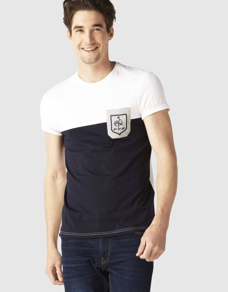 t-shirt Celio équipe de France