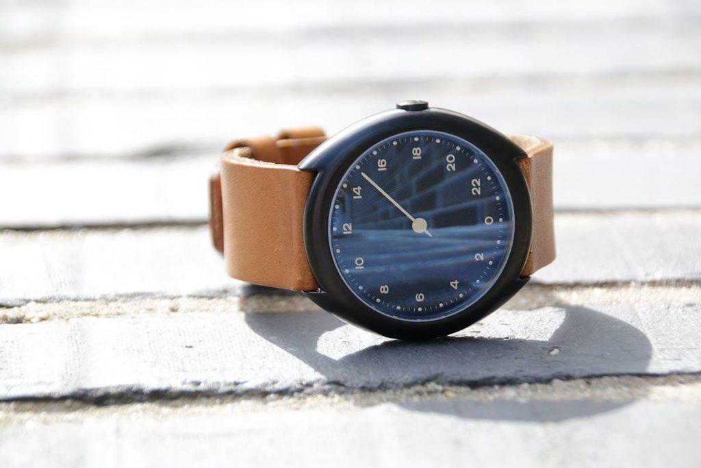 montre Slow cuir O 15
