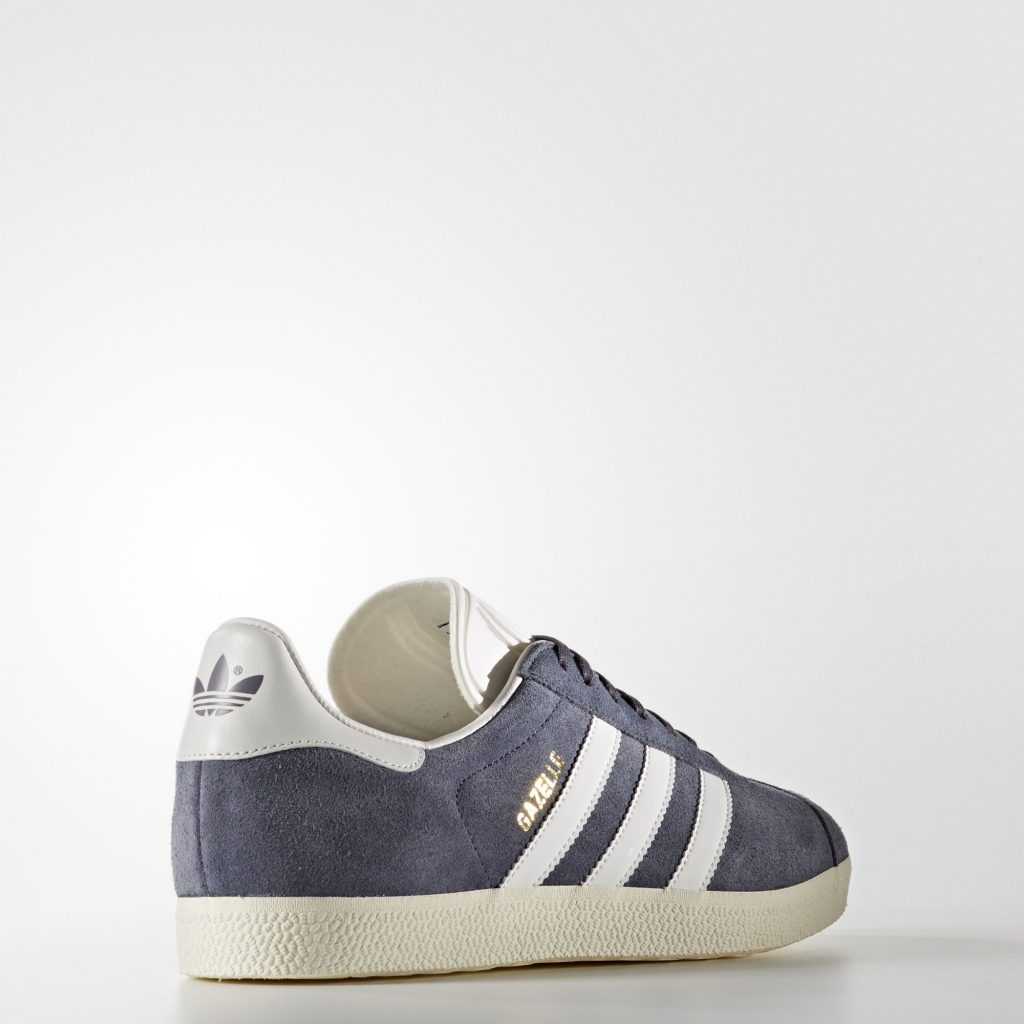 chaussure Adidas gazelle suede grise