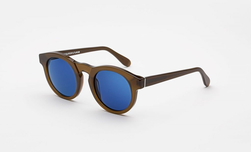 solaires marrons Boy Retrosuperfuture